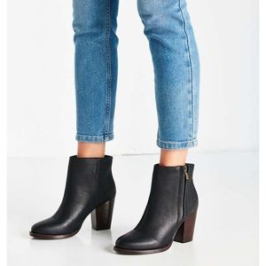 Silence + Noise Half Stacked Ankle Boots